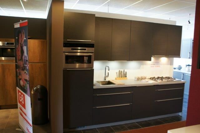 Keuken Antraciet Hout : woonwinkel van Nederland! Antraciet grijze hout keuken. [53460
